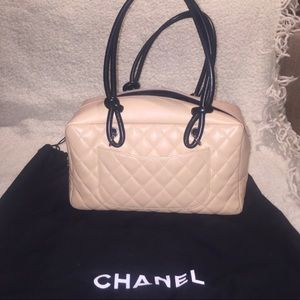 💝CHANEL CC QUILTED BOWLING BAG 🎉2X HP